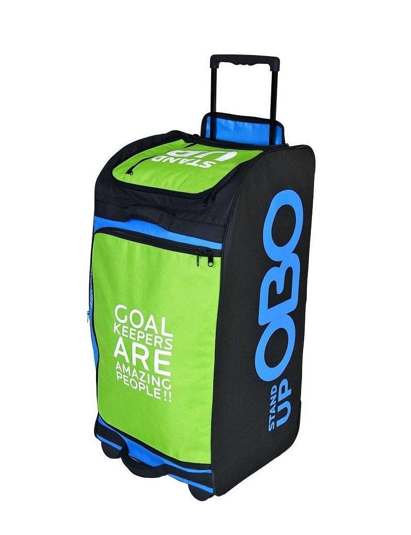 OBO Bag Wheelie Stand Up Blck/Blue/Green