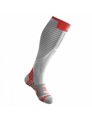 Compressport Full Socks Ultralight White