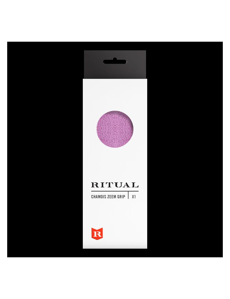 Ritual Textured Chamois Grip Rosa