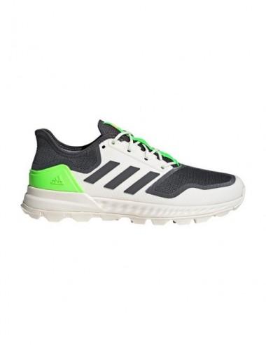 Adidas Adipower Hockey Shoes Grey Green