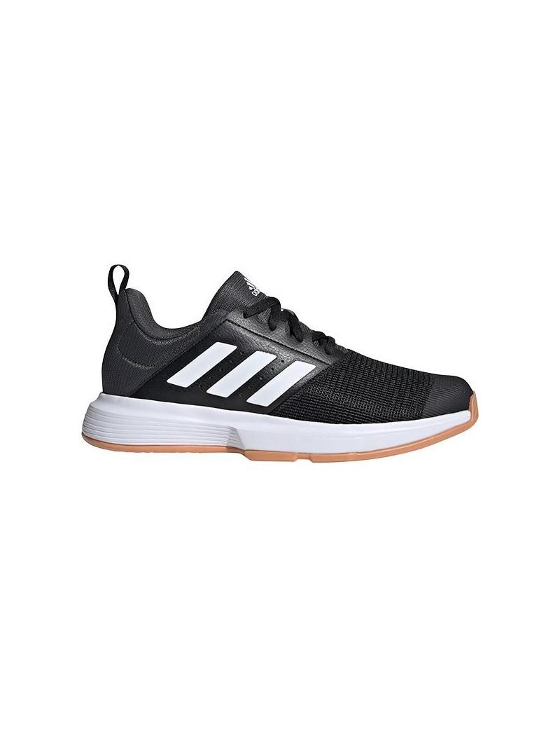 Adidas Essence Indoor Hockey Shoes Black White Grey