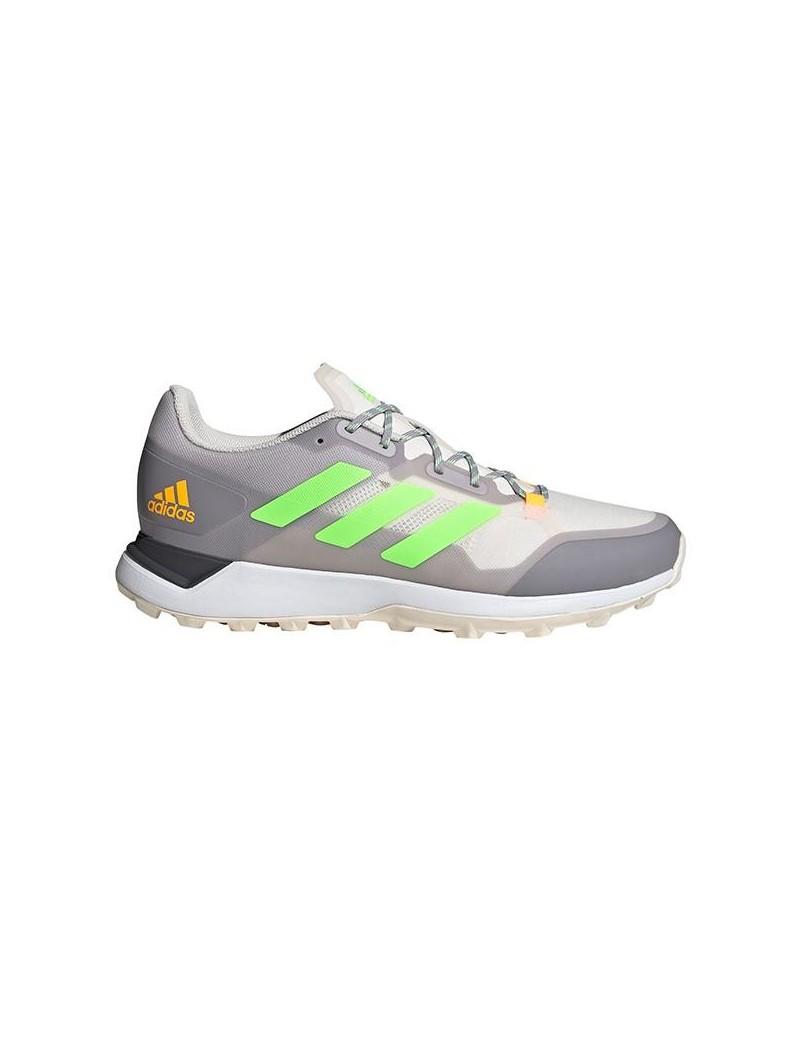 Adidas Zone Dox 2.0S Hockey Shoes Grey Green