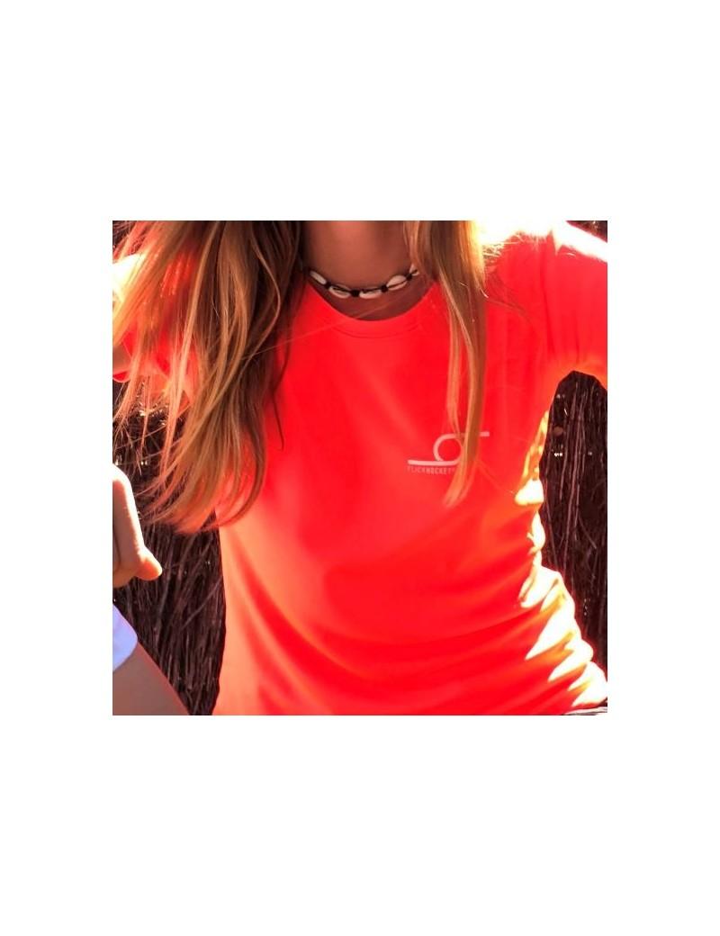 Flick T-shirt Sport JR Coral