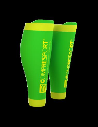 Compressport CALF R2 v2 Fluo Green