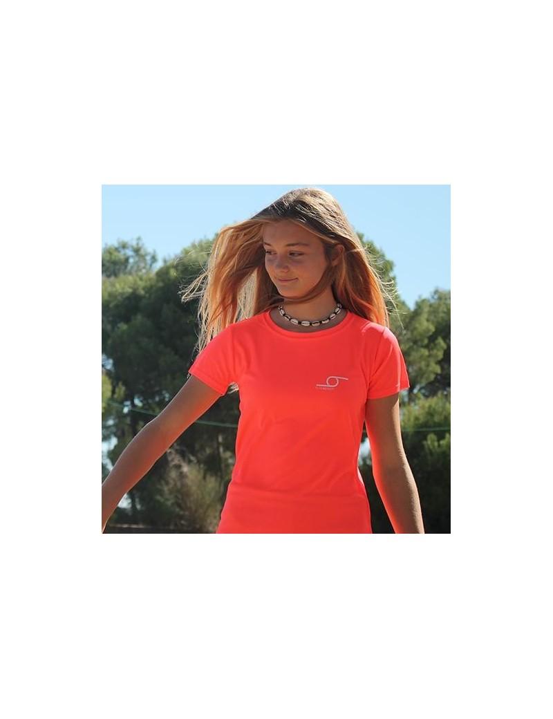 Flick T-shirt Sport W Coral