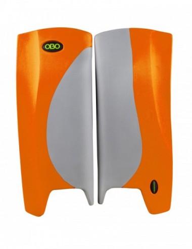OBO Robo Hi Rebound Legguards Grey Orange