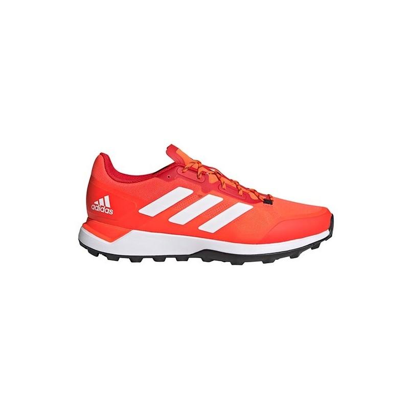 Adidas Zone Dox 2.0 Hockey Shoes Red White